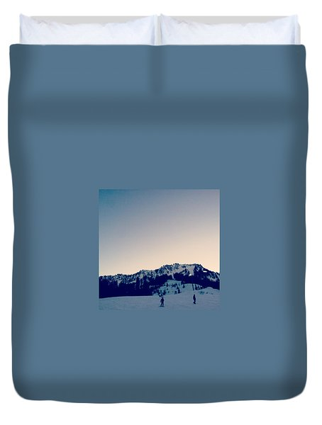 Dusk Duvet Cover by Courtney Crossfield