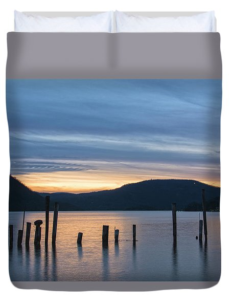 Dusk Sentinels Duvet Cover