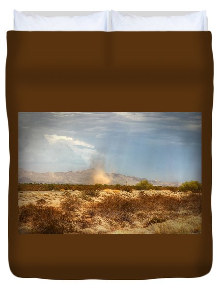 Dust Devil Duvet Cover