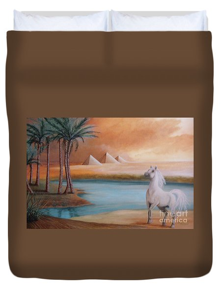 Dust Storm Duvet Cover by Corey Ford