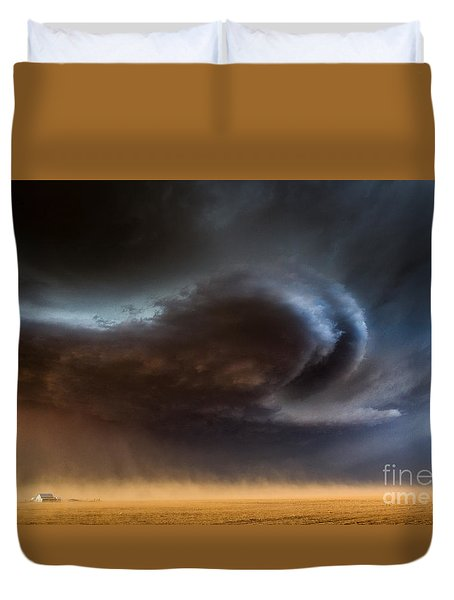 Dust Storm Duvet Cover