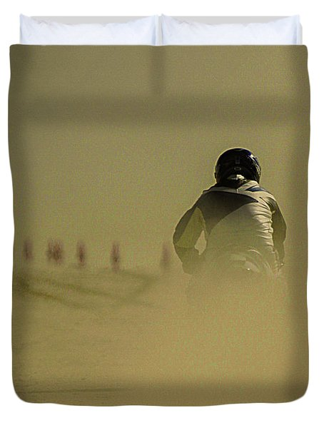 Dusty Exit Duvet Cover