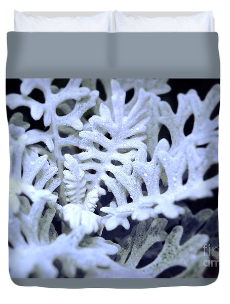 Dusty Miller Duvet Cover