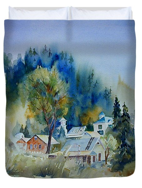 Dutch Flat Hamlet #2 Duvet Cover