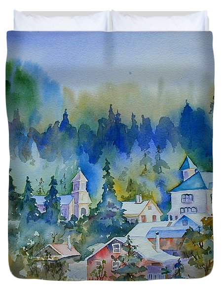 Dutch Flat Hamlet#3 Duvet Cover