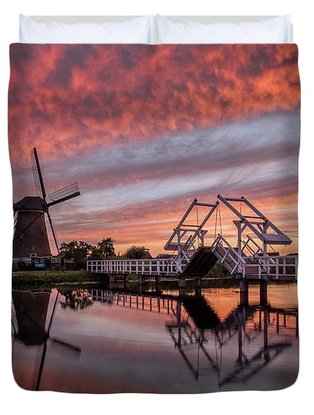 dutch Inferno Duvet Cover