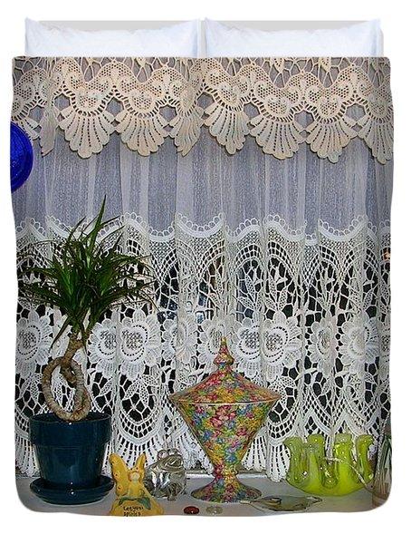 Dutch Lace Duvet Cover