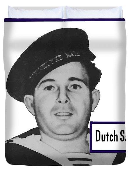 Dutch Sailor This Man Is Your Friend Duvet Cover