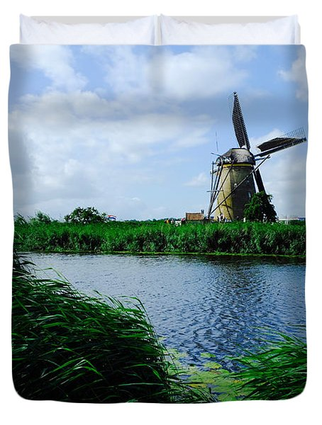 Dutch Windmill Duvet Cover