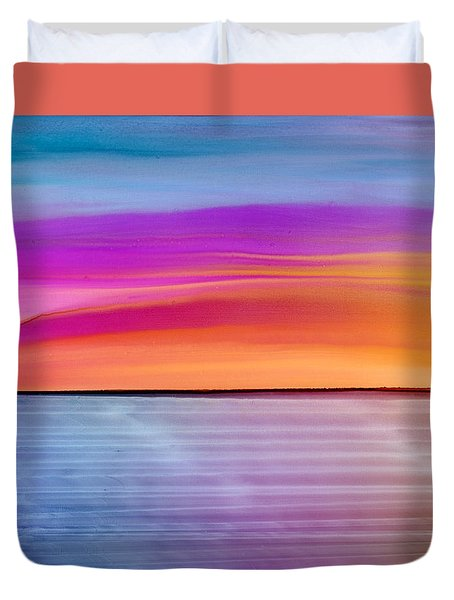 Dwindle By Day Duvet Cover