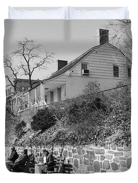 Dyckman Farmhouse  Duvet Cover