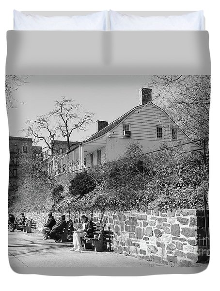 Dyckman Farmhouse  Duvet Cover
