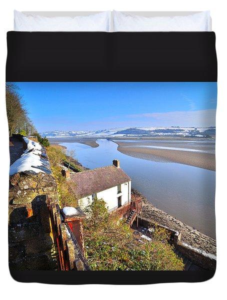 Dylan Thomas Boathouse 2 Duvet Cover