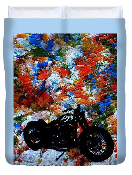 Dyna-might Duvet Cover