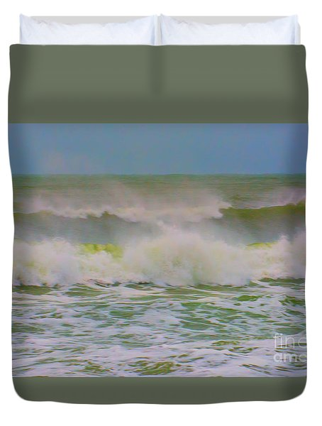 Dynamic Wave Duvet Cover
