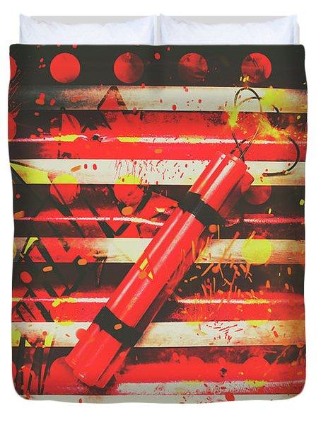 Dynamite Artwork Duvet Cover