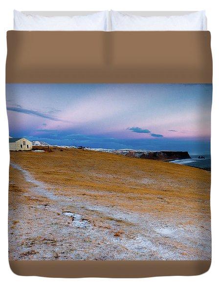 Dyrhloaey Cottage Duvet Cover