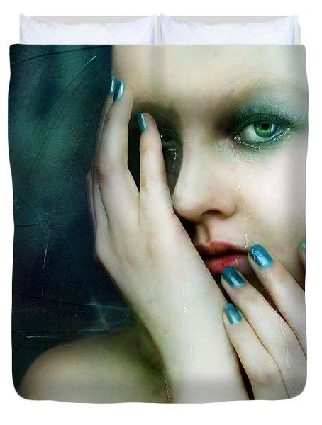 Dysthymia Duvet Cover by Mary Hood