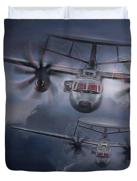 E-2d Hawkeye Duvet Cover
