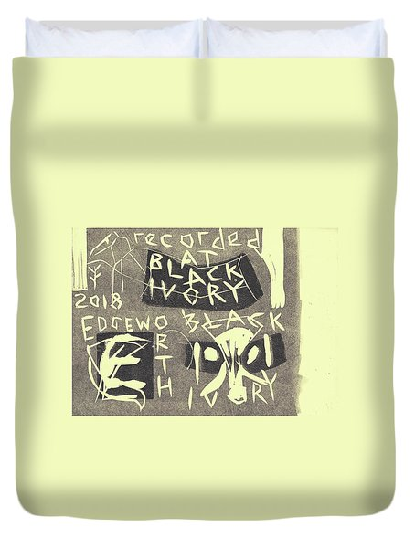 E Cd Grey Duvet Cover