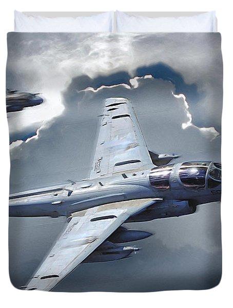 Ea-6b Prowler Duvet Cover