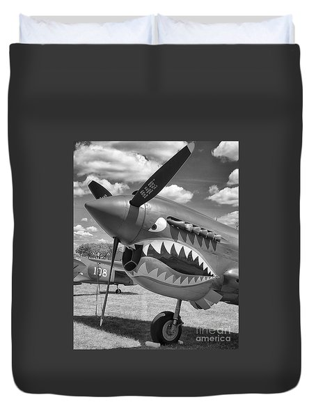 Duvet Cover featuring the photograph Eaa Airventure by Ricky L Jones