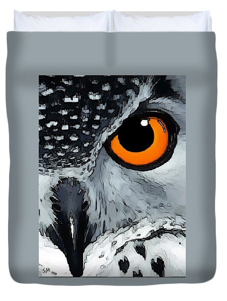 Eagle Art Duvet Cover