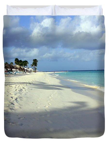 Eagle Beach Aruba Duvet Cover