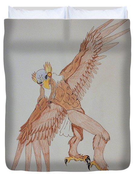 Eagle Dancer Duvet Cover