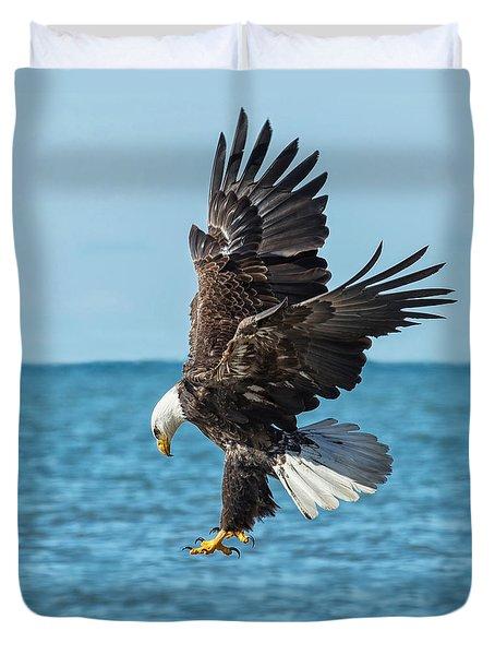 Eagle Dive Duvet Cover