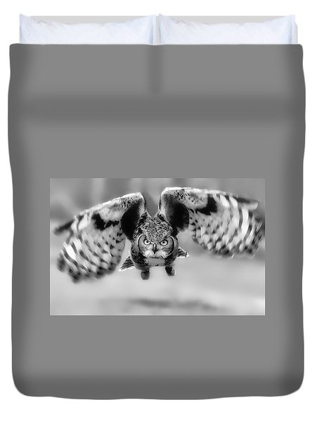 Eagle Eyed Duvet Cover