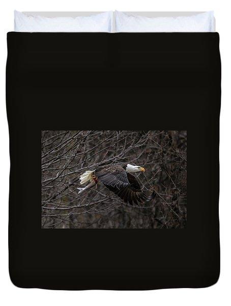 Eagle Fisher Duvet Cover