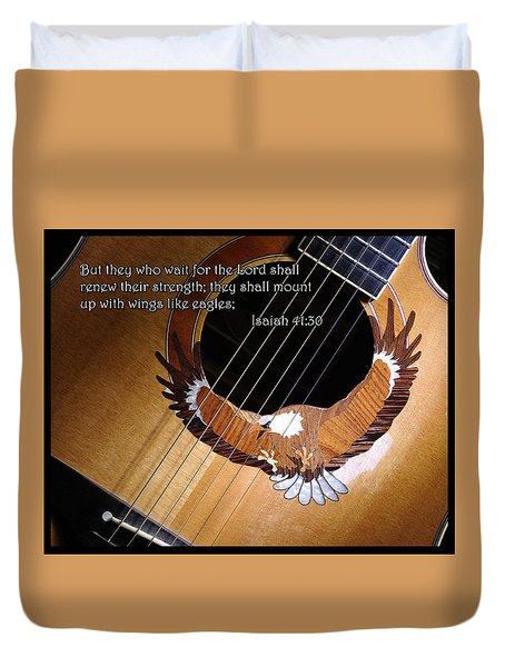 Eagle Guitar Duvet Cover