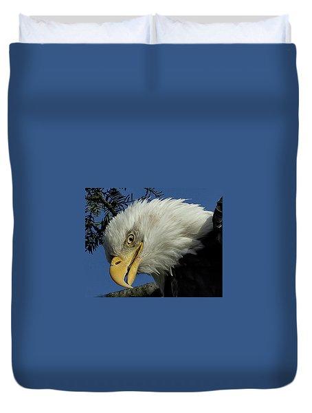 Eagle Head Duvet Cover