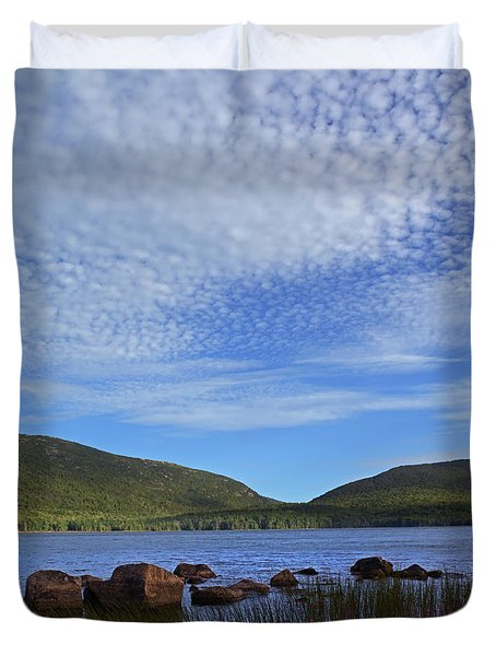 Eagle Lake Duvet Cover