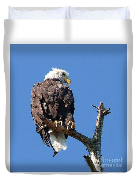 Eagle Lookout Duvet Cover