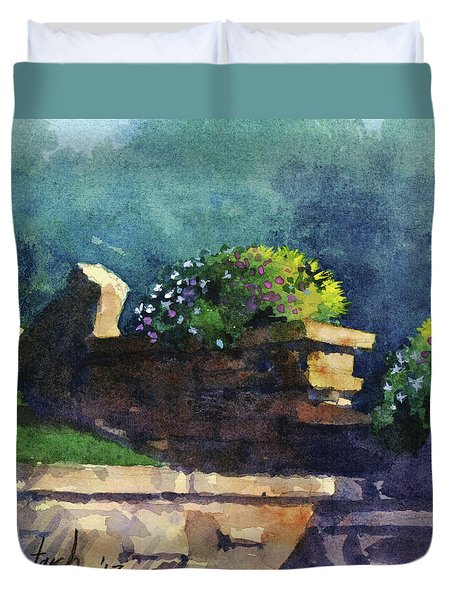 Eagle Point Planter Duvet Cover
