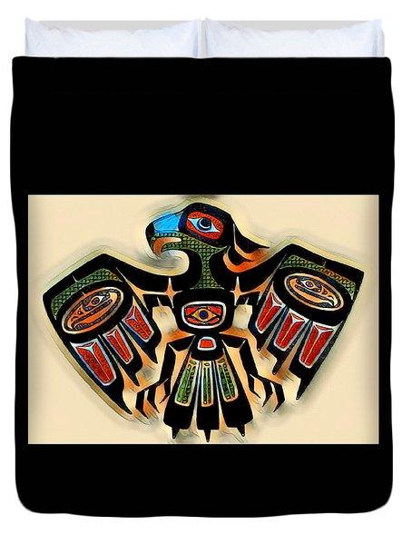 Eagle Symbol 2 Duvet Cover
