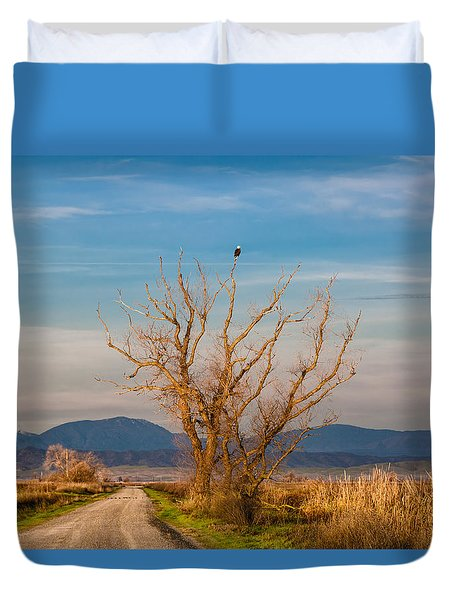 Eagle Watch Duvet Cover