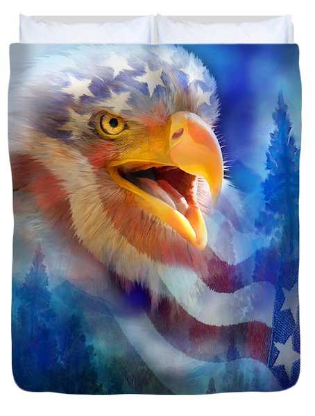 Eagle's Cry Duvet Cover