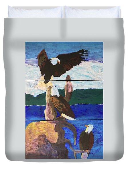 Eagles Duvet Cover