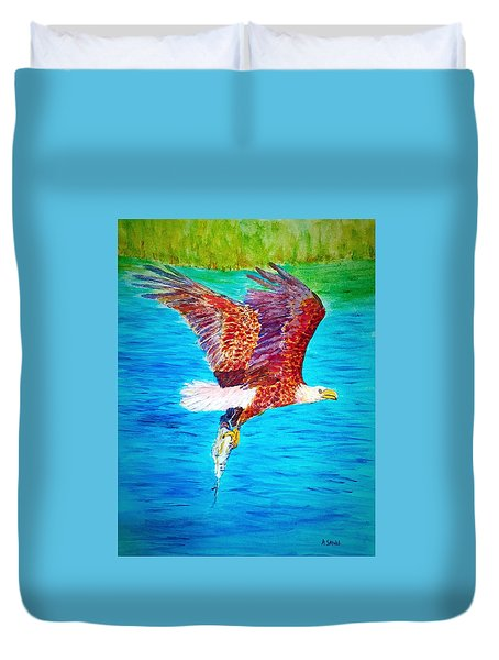 Eagle's Lunch Duvet Cover