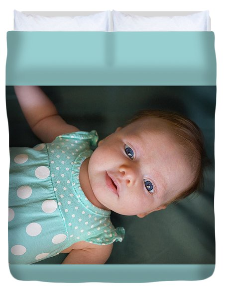 Duvet Cover featuring the photograph Early Adoration by Bill Pevlor