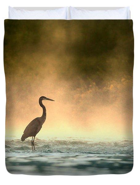 Early Bird Duvet Cover