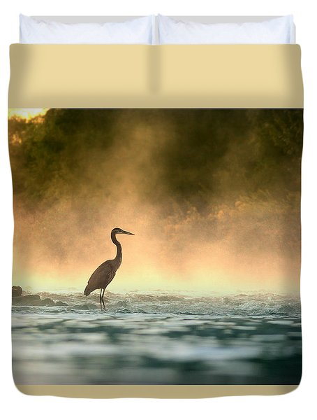 Early Bird Duvet Cover