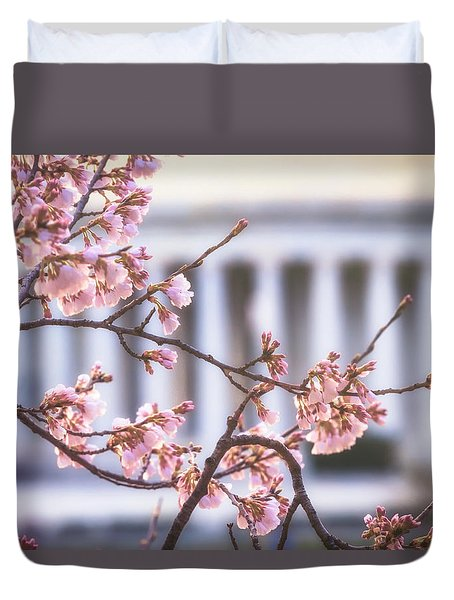 Early Bloom Duvet Cover