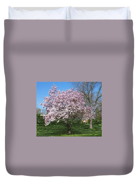 Early Blooms Duvet Cover