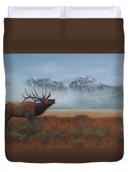 Early Call Duvet Cover