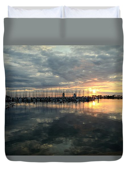Early Day Duvet Cover