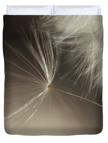 Duvet Cover featuring the photograph Early Departure by Amy Tyler